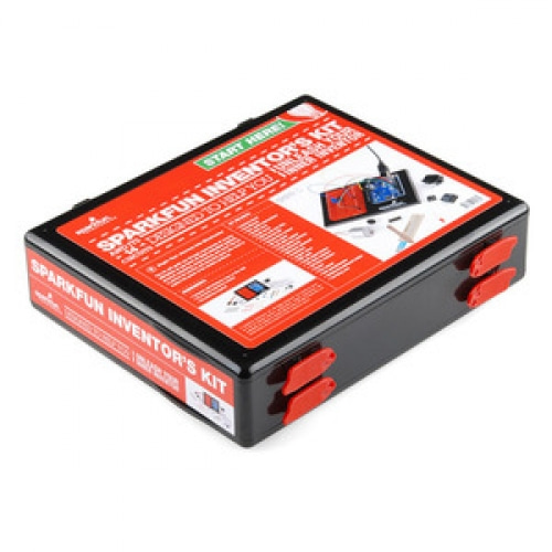 Inventor's Kit for Arduino with Retail Case