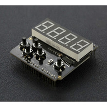 LED 키패드 쉴드 (아두이노 호환) LED Keypad Shield For Arduino [DFR0382]