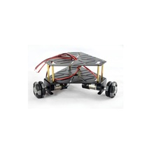 15001 3WD 48mm Omni Wheel Robot platform chassis(with encoder)/Black [NX-15001B]